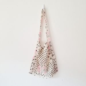 Free People Reusable Cloth Shopping Tote Bag